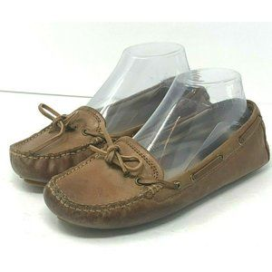 Frye Reagan Campus Driver 7M Leather Moccasins